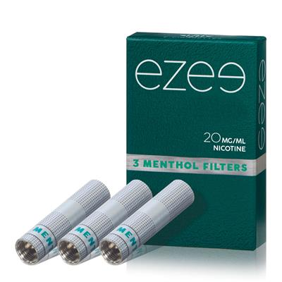Ezee Cartridges Menthol 20mg Nicotine Pack with 3