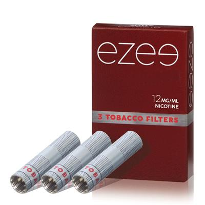 Ezee Cartridges Tobacco 12mg Nicotine Pack with 3